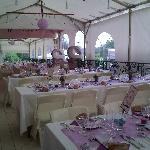 La terrasse pour vos réceptions