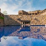 Thermal water pools in Santa Teresita