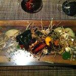 """""""Autumn Scene"""" a delicious veggie dish"""