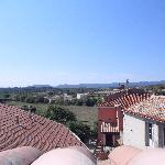 veiw from the roof terrace