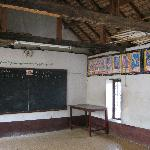 The outside classroom for the monks