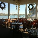 The Main Dining Room overlooking the intercoastal