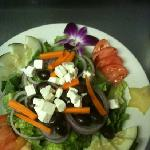 yummy and fresh Greek salad