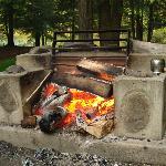 Campsite firepit