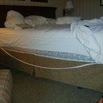 Bed falling apart