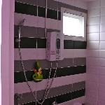 Bathroom with that subtle hint of pink