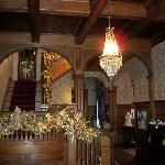 The Foyer  at Christmas
