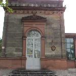 Ehemalige Bahnhof Foto