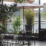Roof Terrace Bar & Seating Area