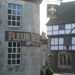 Outside the Fleur De Lys