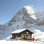 The mighty north face of the Eiger - October 2011