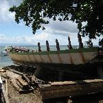 Boat at Bunaken Beach
