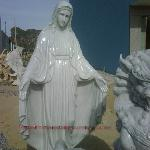 Stone statue of mother Maria