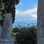 Porec Roman Ruins with Adriatic Sea Behind (Oct. 11)