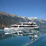 Lake Brienz steamer - October 2011