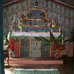 capela da fazenda  datada de 1800