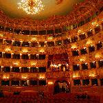 La salle du théâtre La Fenice