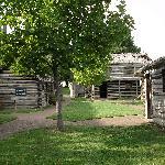 Fort Nashborough - Innenansicht