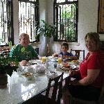 Breakfast at Patty's Casitas B&B
