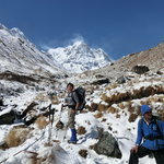 On the way to Annapurna Base Camp