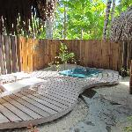Giardino del beach bungalow