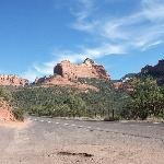 Back to Sedona Red Mountains
