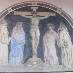 A Crucifixion by Andrea del Castagno