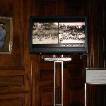 Ausstellungsraum mit Videofilm