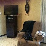 corner with tv