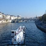 The Seine - beautiful November day