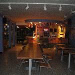 bar et salle de restauration
