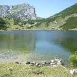 il Rofanspitze riflesso nel lago
