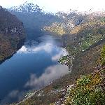 Geiranger fjord with Grande Hytteutleige