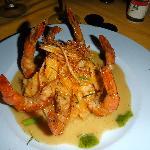 amazing shrimp dinner
