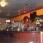 The bar at Addis