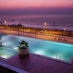 My fav place! the pool with a sea view