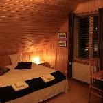 The cozy room