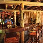 Bar at the Lokuthula Swimming Pool