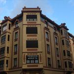 Hostel in the very center of Pamplona