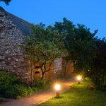 old Barn by night