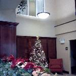 Decorated Lobby