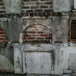 The actual burial site of voodoo queen Marie Laveau