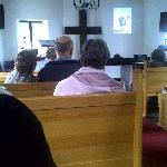 Lovely chapel and Sunday service