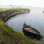 Facing the Lough Ree