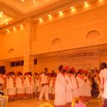 A captivating Traditional performance in the conference Hall in the New wing