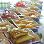 Breakfast fruits @ buffet