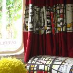 belrepayre retro camping - details of fabrics