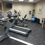 Fitness Room - very good size!