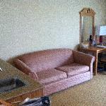 Sofa Wet Bar Area