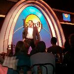 Comedian Harry Basil